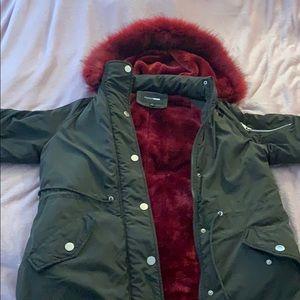Fashion Nova oh Baby utility jacket XL